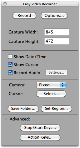 how to record sound on mac