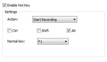 hotkey sound recorder: