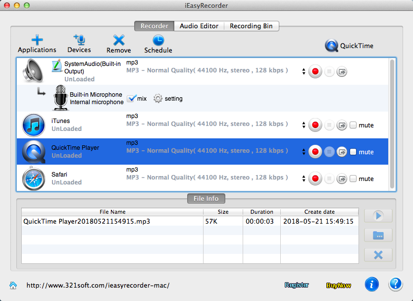 Audio Recorder Mac 3.2 - Download